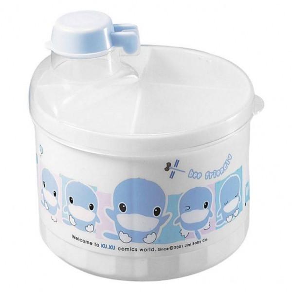 Hộp chia sữa tròn Babyhouse Ku5310 (Trắng)