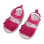 Infant Soft Sole Princess Sandals (Rose Red)