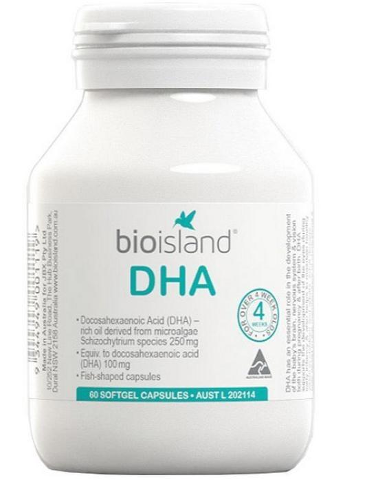 Kẹo bổ sung DHA cho bé Bio Island 60 viên