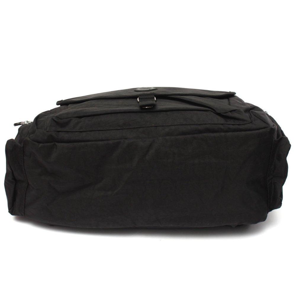 LANDUO Baby Changing Bag Large Mummy Diaper Nappy Shoulder Handbag Travel Black - Intl