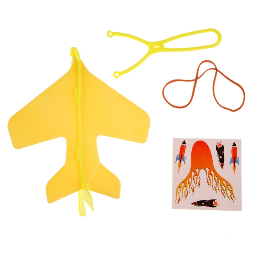 Mini DIY Kids Hand Throwing Flying Light Aircraft Airplane Glider Toys - intl