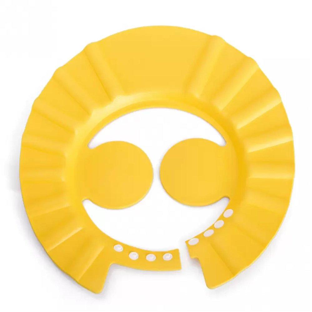 Mũ Chắn Nước Có Vành Che Tai Cho Bé (Vàng Chanh)