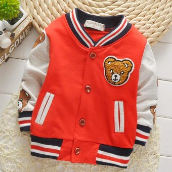 New Spring and Autumn Baby Boys Casual Sports Coat and Jackets -intl