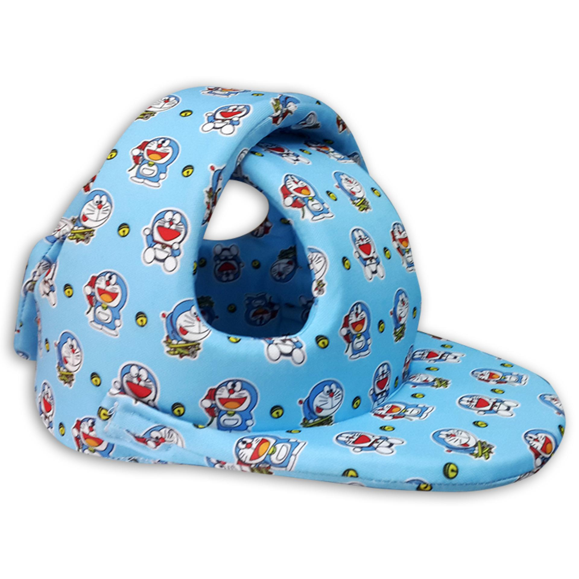 Nón bảo hiểm Babyguard Handmade Xanh 02- Mũ tập đi