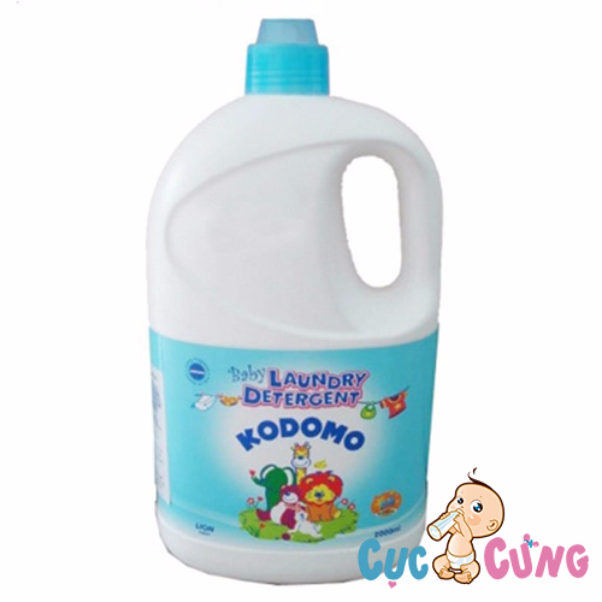Nước giặt tẩy KoDoMo 2000ml Thái Lan - chai