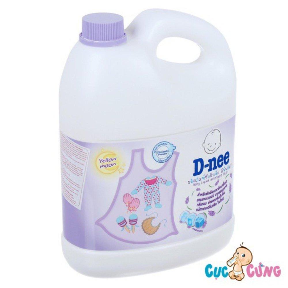 Nước giặt xả Dnee Thái Lan 3000ml (Tím)