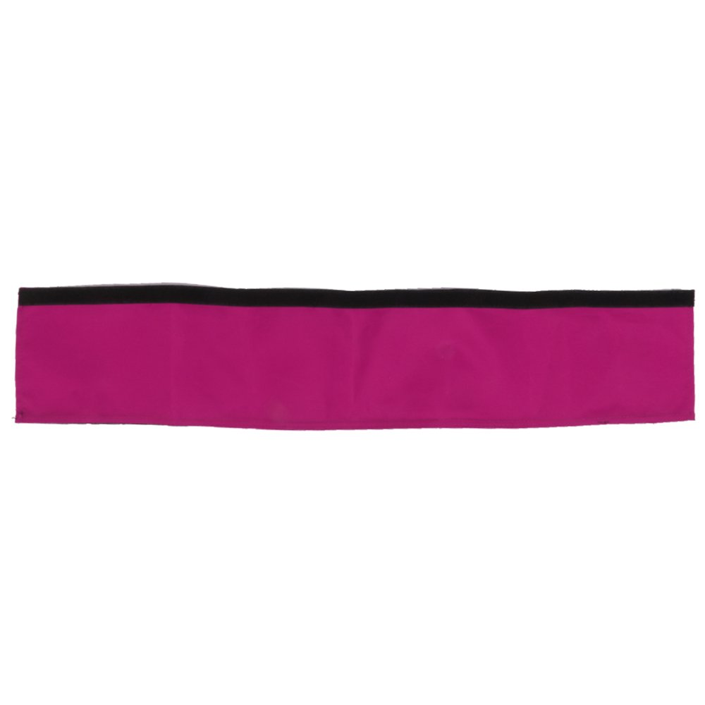 Oxford Fabric Fastener Handle Bar Cover for Buggy Baby Pram Pushchair Purple - Intl