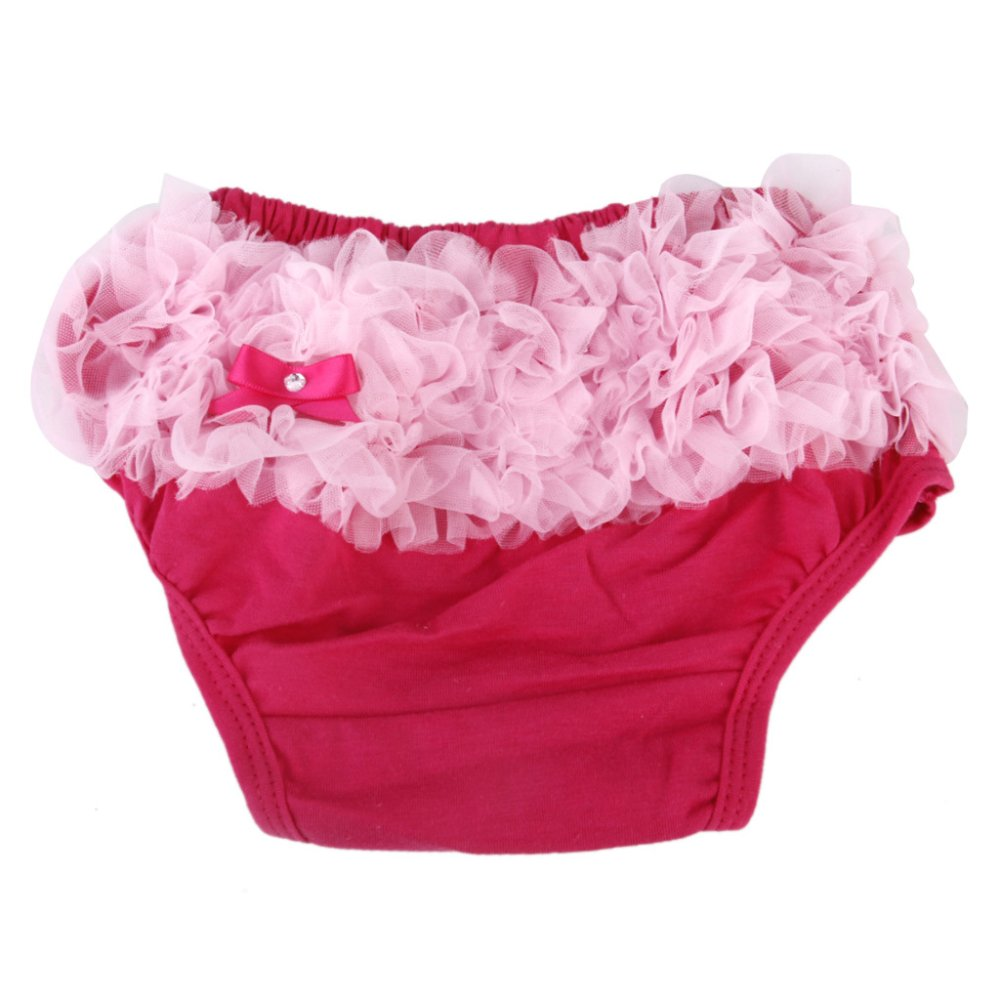 Ruffle Underwear Bloomers Diaper Cover for Baby Girl - Intl