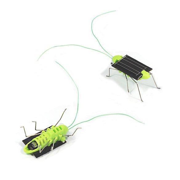 Solar Power Energy Crazy Grasshopper Cricket Kit Toy - intl