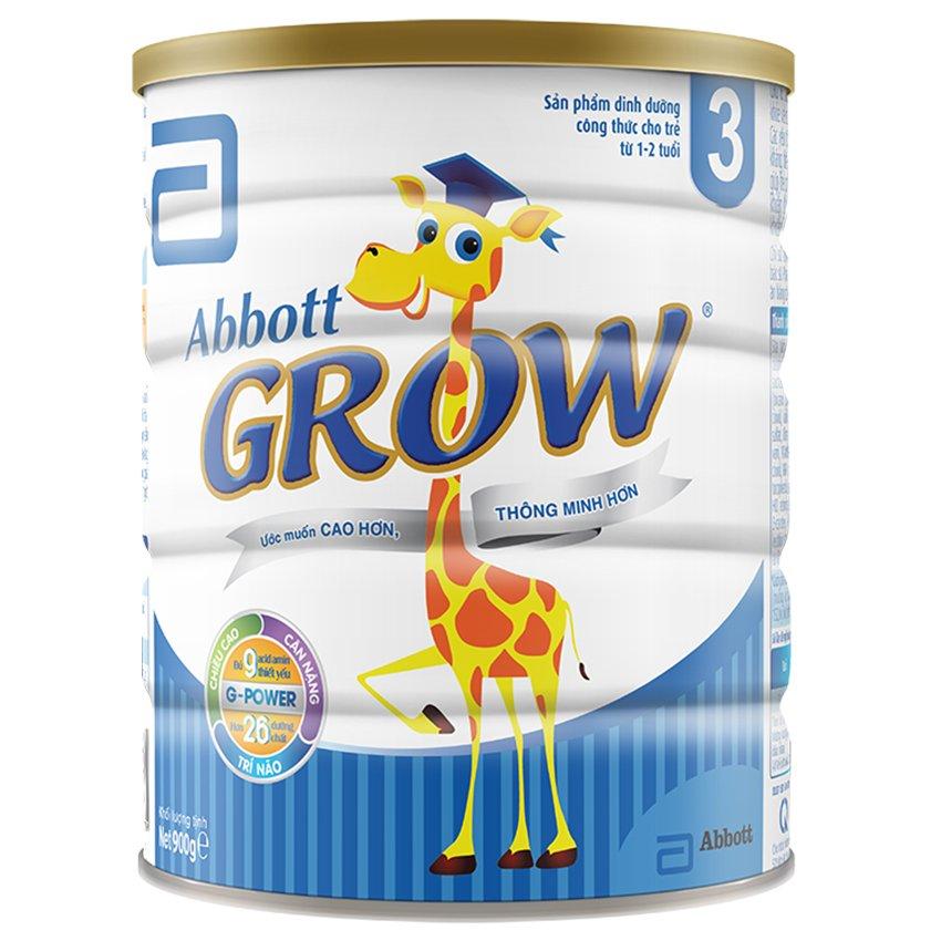 Sữa bột Abbott Grow 3 G-Power Hương Vani 900g