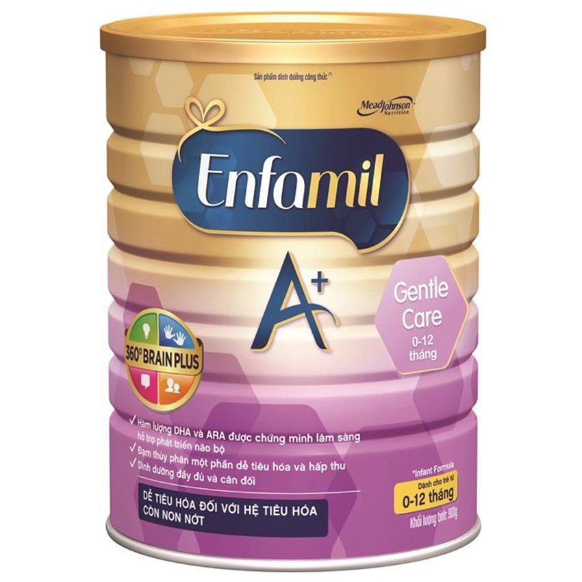 Sữa bột Enfamil A+ Gentle Care 360o Brain Plus 900g