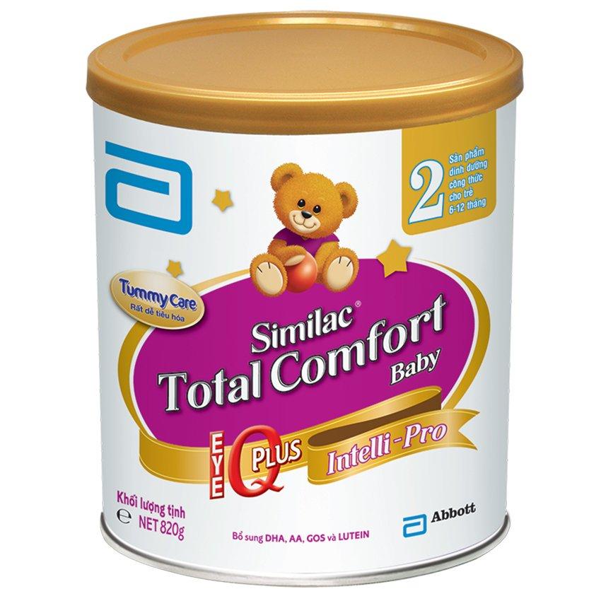 Sữa bột Similac Total Comfort 2 Hương Vani 820g