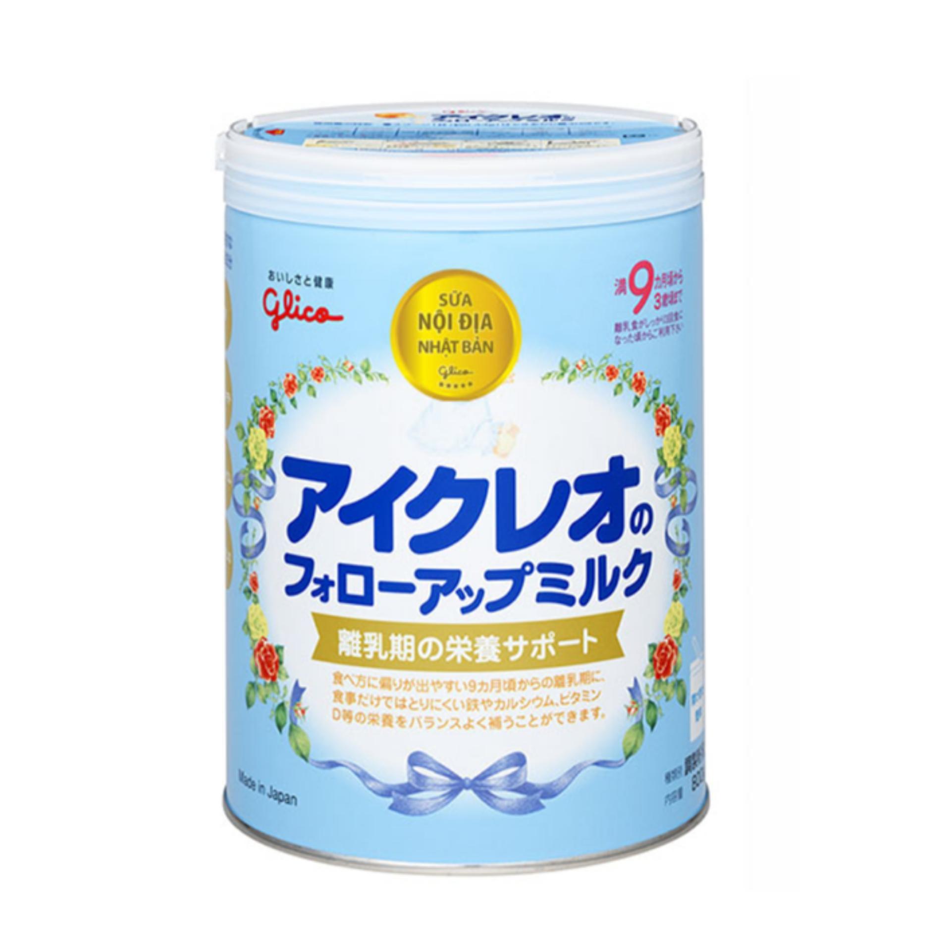 Sữa Glico ICREO Số 9 (9-36 tháng) 820g(Natural)
