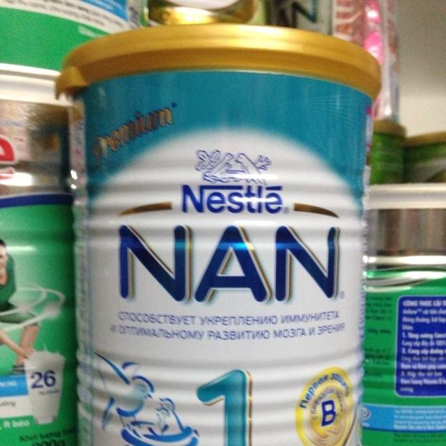 Sữa Nan Nga các số hộp bé 400g- hộp to 800g