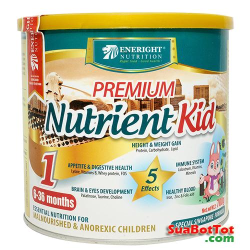 Sữa Premium Nutrient Kid Số 1 700g