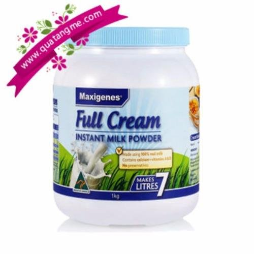 Sữa Tươi Dạng Bột Maxigenes Full Cream Úc 1Kg