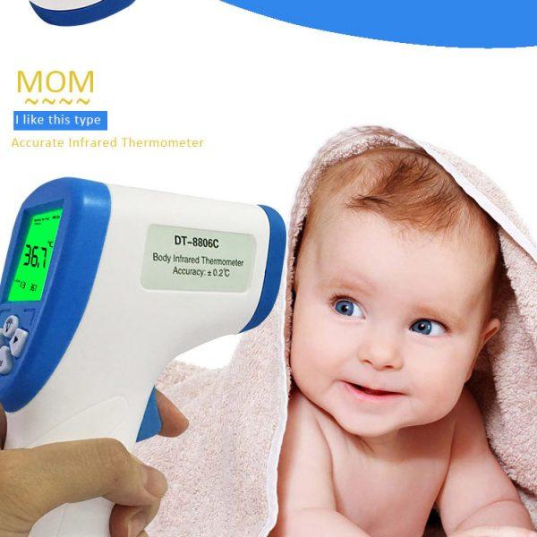 Súng đo nhiệt kế hồng ngoại cho em bé DT – 8806C