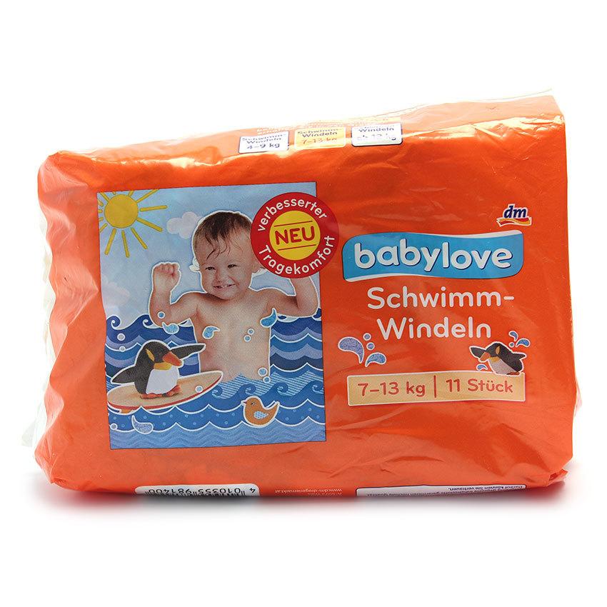 Tã đi bơi dùng một lần Baby Love 7-13 kg