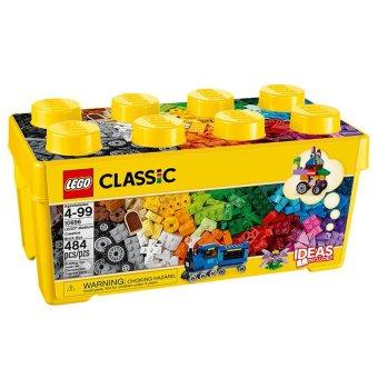 Thùng gạch xếp hình LEGO 10696 Classic Medium Creative 484 miếng