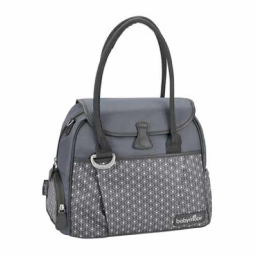 Túi đựng đồ cho mẹ và bé Babymoov Style BM01653 (Hoa xanh)