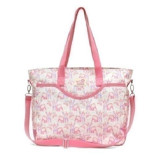 Túi xách cho mẹ màu hồng Hanspumkin