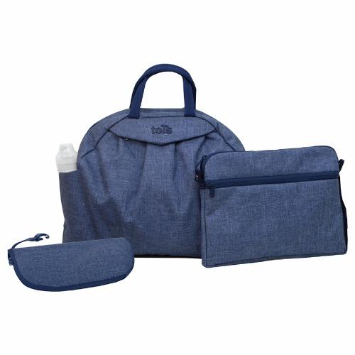 Túi xách thời trang 5 in 1 Chic Blue Smartrike 100103