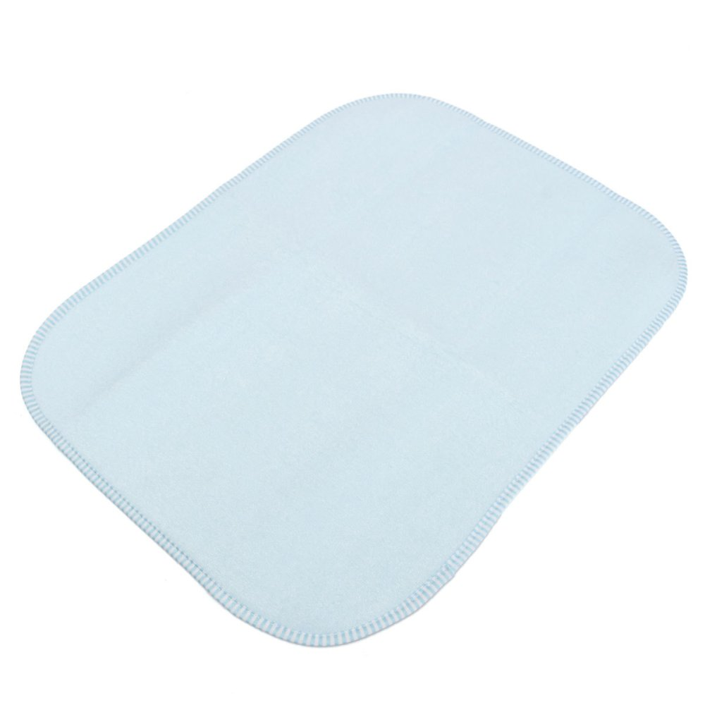Waterproof Soft Padded Deluxe Large Baby Changing Mat 35x45cm Blue - Intl