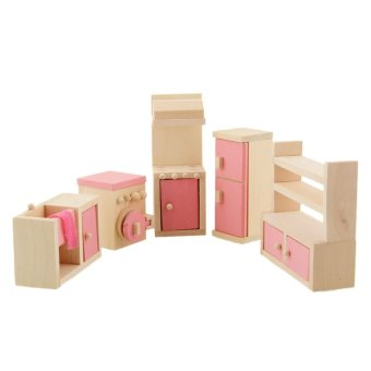 Wooden Doll Bathroom Furniture-Kitchen