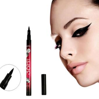 Aukey Waterproof Liquid Make Up Beauty Comestics Black Eyeliner EyeLiner Pencil Hot (Intl) - intl
