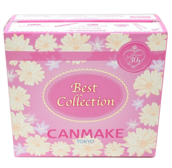 Bộ trang điểm Canmake Tokyo 5 sản phẩm the best CANMAKE collection (hồng)