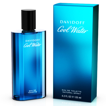 Nc hoa nam DAVIDOFF Cool Water for men Eau De Toilette 125ml