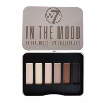 Phấn mắt 6 màu W7 Natural Nudes - Eye Colour Palette 7g# In TheMood