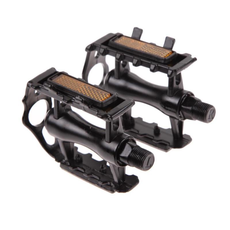 Mua 1 Pair BMX MTB Aluminium Alloy Mountain Bicycle 9/16 Pedals Flat(Black) - intl