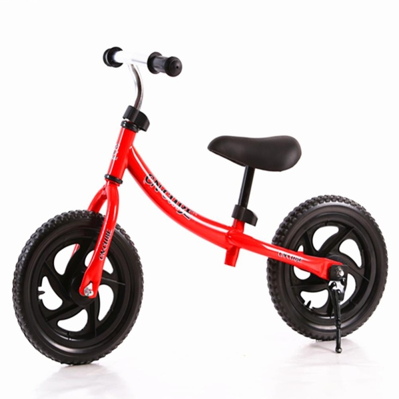 Phân phối 12 Inch Two-wheeled Pushbike Children Balance Training Bike with Adjustable Handlebar and Saddle Color:Red Size:12 inch - intl