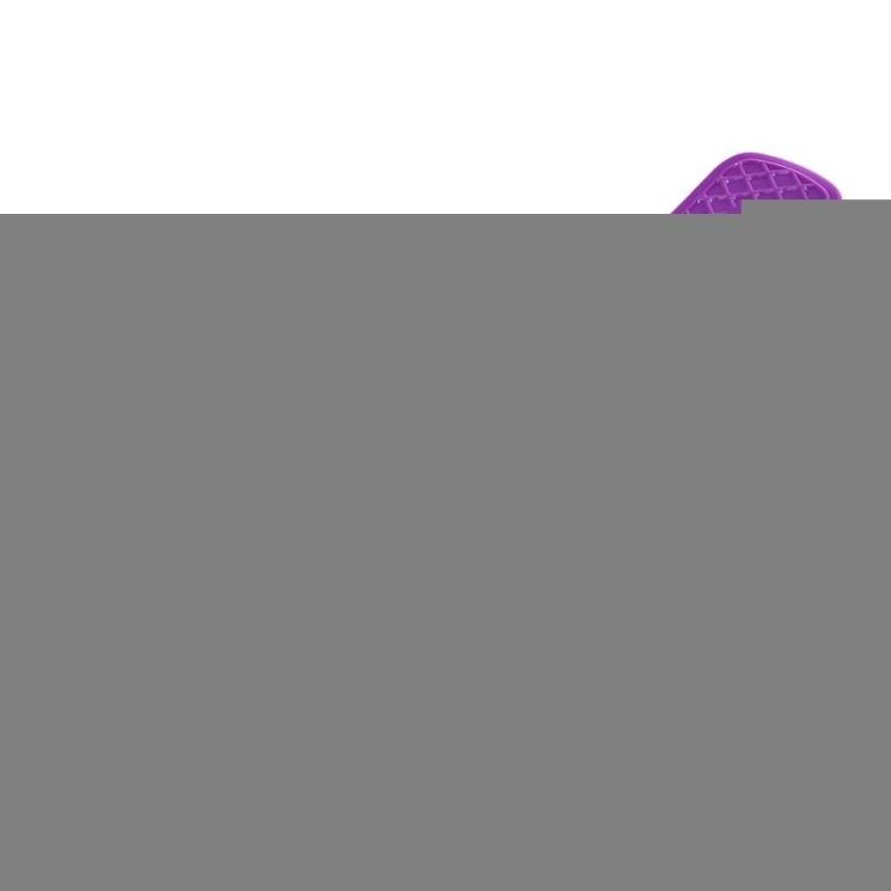 Mua 22 Inches Four-wheel Street Long Skateboard Mini Cruiser Fish Banana Board (Purple) - intl