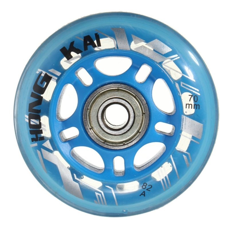 Mua 4 Pcs 70mm 82A Replacement Wheels Rollerblade Skating Inline Skate Shoes Blue - intl