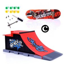 6 Types Skate Park Ramp Parts for Tech Deck Fingerboard Ultimate Parks C - intl