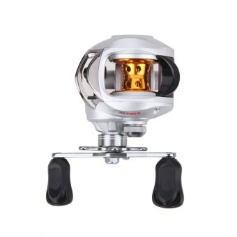 6.3:1 Bait Casting Fishing Reel 9+1 Ball Bearings One Way Clutch(Left) - intl