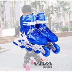GIÀY PATIN CAO CẤP GẮN ĐINH PHÁT SÁNG TOÀN BỘ ( Size S ) - VIVA SPORT
