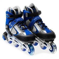 Giày trượt Patin cao cấp dành cho trẻ em - màu xanh