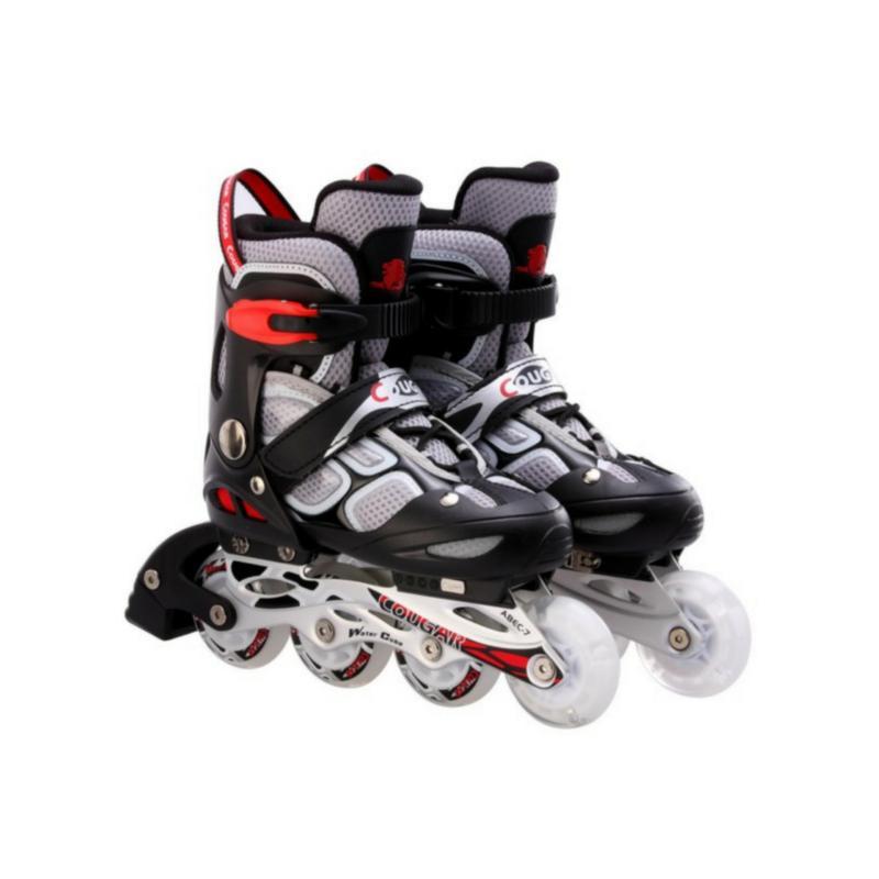 Phân phối Giầy trượt Patin có đèn 835LSG màu ghi đen - thể thao