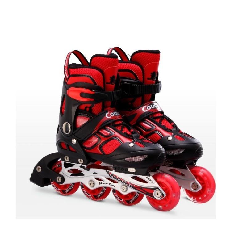 Phân phối Giầy trượt patin Cougar 835LSG đỏ