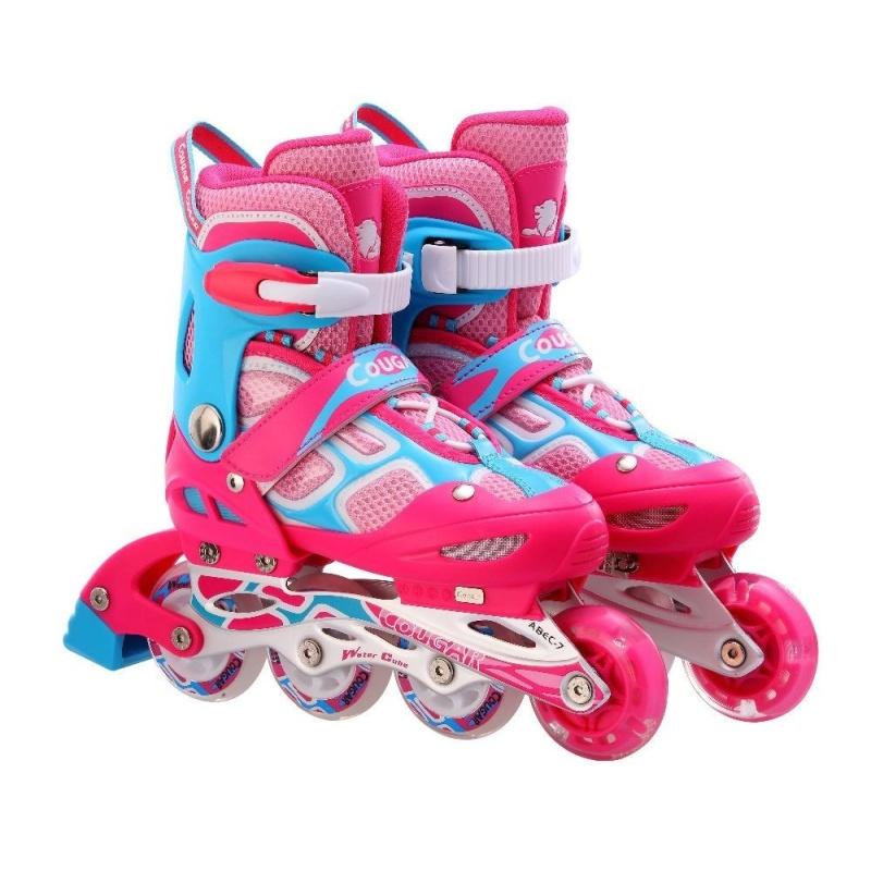 Phân phối Giầy trượt patin Cougar 835LSG hồng GC-0001