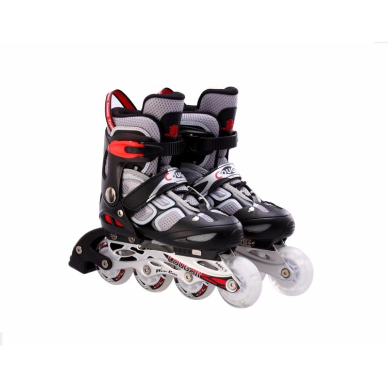 Phân phối Giầy trượt patin Cougar có đèn 835LSG màu ghi size M(34-37)