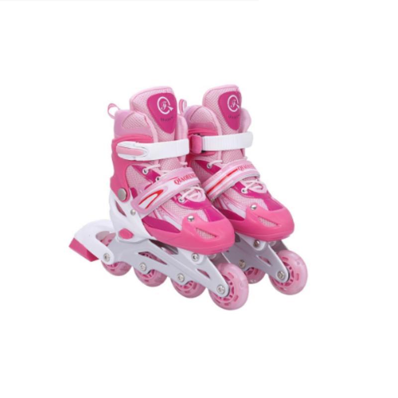 Mua Giày trượt patin đinh tán phát sáng ( màu hồng)