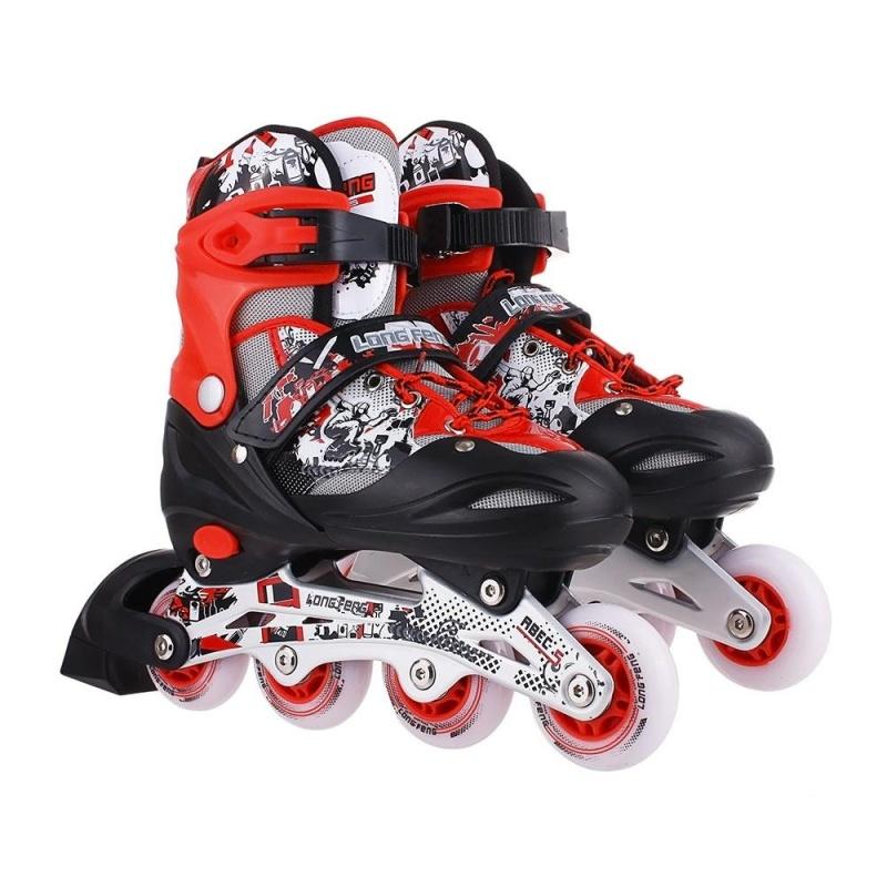 Phân phối Giầy trượt patin longfeng 906 màu đỏ