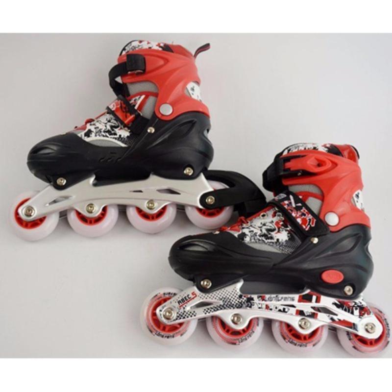 Phân phối Giầy trượt patin trẻ em Long feng 906 size M-Phù hợp cho trẻ từ 7-12 tuổi