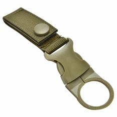 Key Hook Tactical Molle Hanging Belt Carabiner Webbing Water Bottle Buckle Clip - intl