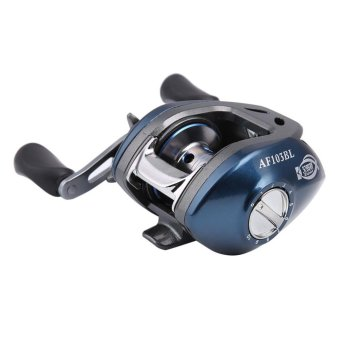 Outdoor Baitcasting Bait Cast Reel Rod Fishing Trolling Left/Right 10+1BB - intl