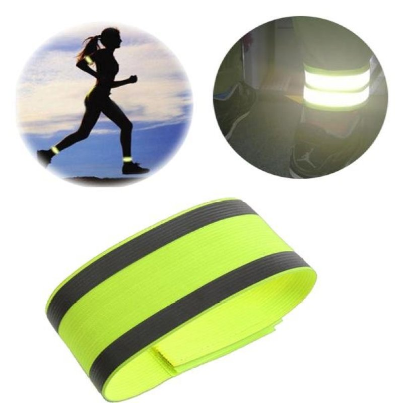 Mua Outdoor Bicycle Night Running Bike Safety Reflective Arm Band Belt Strap
